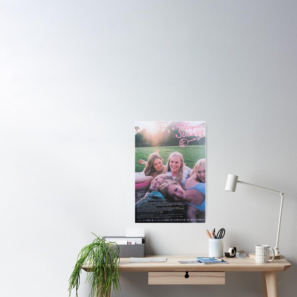 Poster «Les vierges suicides»
