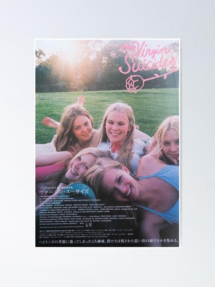 Poster ''Les vierges suicides': autre vue