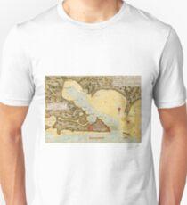 Map Of Puerto Rico 1783 Unisex T-Shirt
