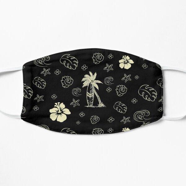 Aloha Pattern Flat Mask