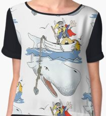 For the Oil, For Asgard! Chiffon Top