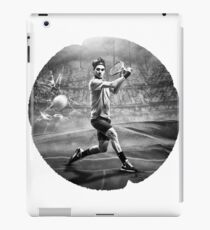 Roger Federer Smash iPad Case/Skin