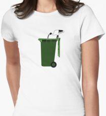 australian bin chicken - original Women's Fitted T-Shirt