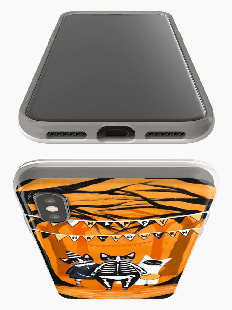 Alternate view of The Halloween Cats iPhone Case & Cover