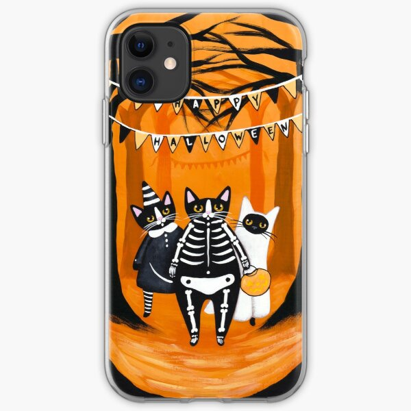 The Halloween Cats iPhone Soft Case