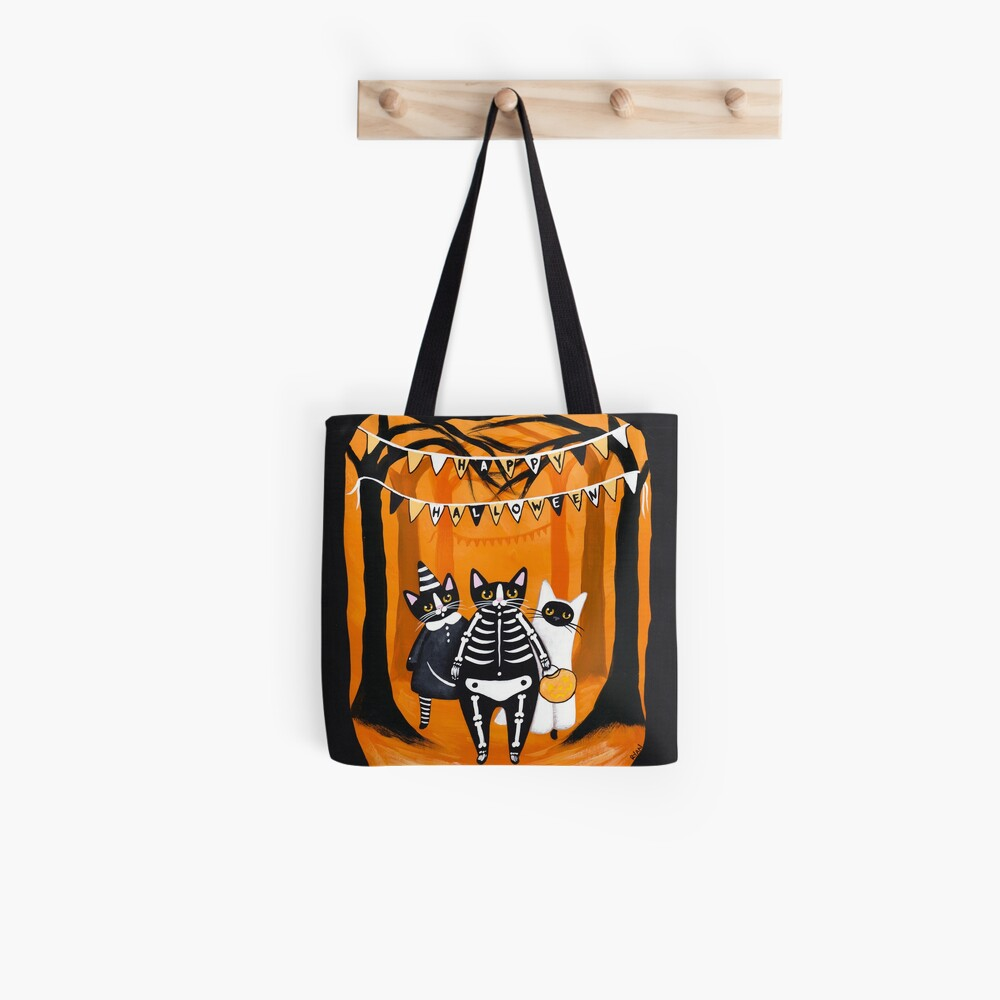 The Halloween Cats Tote Bag