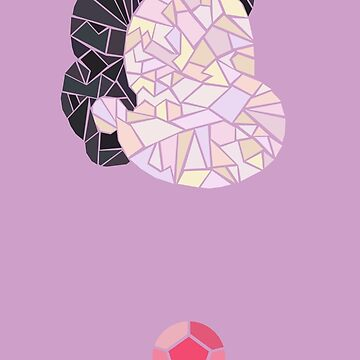 Steven Universe Gem Stained Glass  by opiester