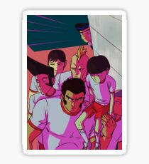 MP100 - Don't Mess With The Body Improvement Club Sticker