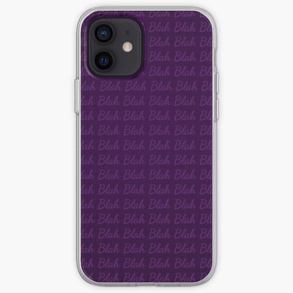 Blah Blah iPhone Soft Case