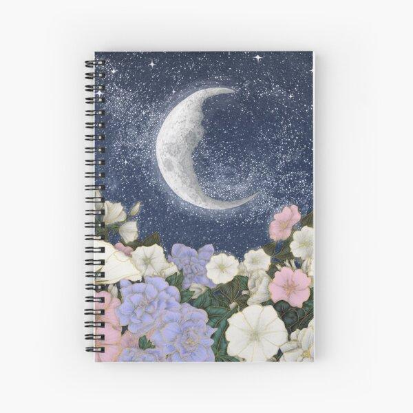 Moonlight in the Garden Spiral Notebook
