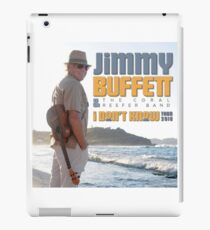 Jimmy Buffett The Coral & Reefer Band Tour 2016 iPad Case/Skin