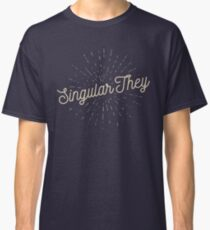 Singular They Classic T-Shirt