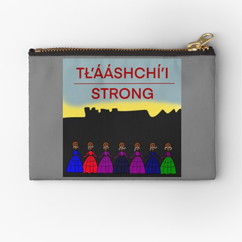 Tlaashchii Strong  Zipper Pouch