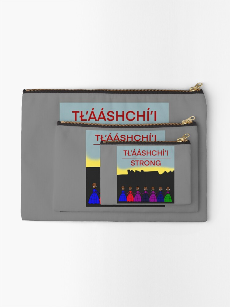 Alternate view of Tlaashchii Strong  Zipper Pouch