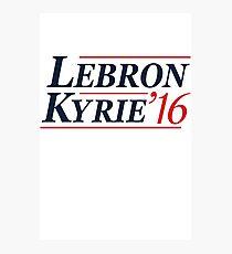 Lebron / Kyrie 2016 Photographic Print
