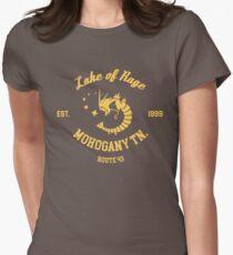 Lake of Rage - Red Gyarados Womens Fitted T-Shirt