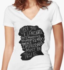 Impossible Women's Fitted V-Neck T-Shirt