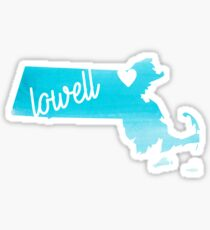 Lowell Sticker