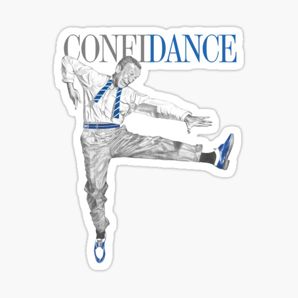Confi-Dance for Dancers and Smooth Operators Sticker