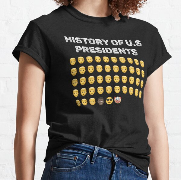 History Of US Presidents 46th Clown Emoji Classic T-Shirt