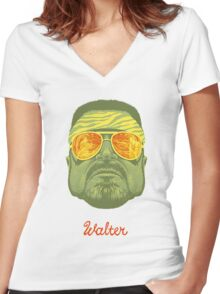 the big lebowski Women's Fitted V-Neck T-Shirt