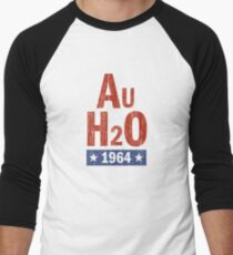 Barry Goldwater AuH2O 1964 Presidential Campaign Men's Baseball ¾ T-Shirt