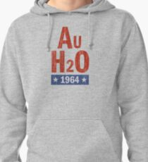 Barry Goldwater AuH2O 1964 Presidential Campaign Pullover Hoodie
