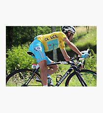 Vincenzo Nibali - Tour de France 2014 Photographic Print