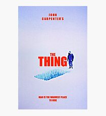 THE THING 2 Photographic Print
