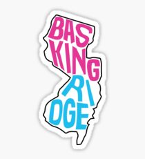 Basking Ridge inside New Jersey Sticker