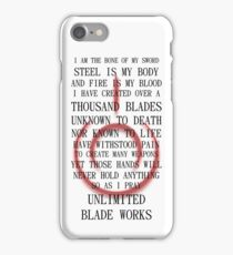 Unlimited Blade Works (Fate/Stay Night) iPhone Case/Skin