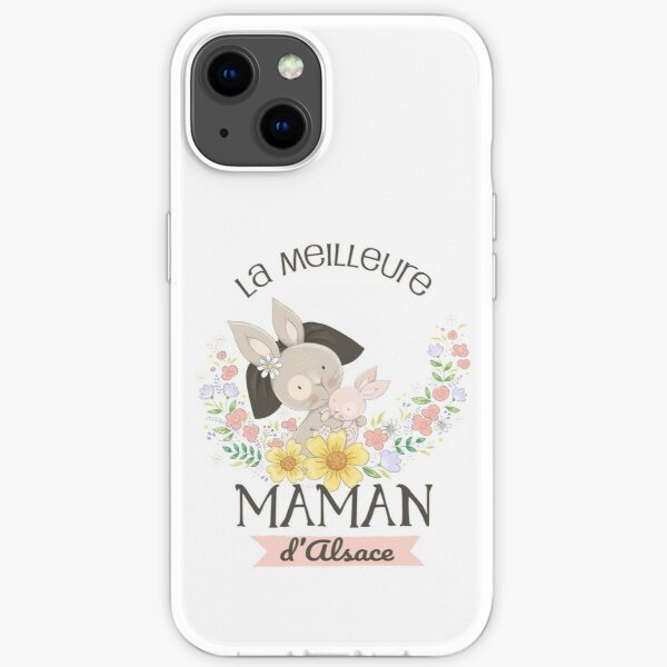 The best mom in Alsace iPhone Soft Case