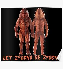 Let Zygons Be Zygons Poster