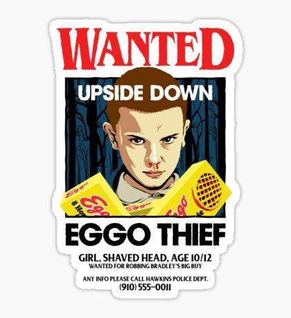 Stranger Wanted Sticker