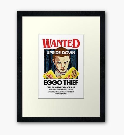 Stranger Wanted Framed Print