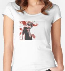 Danny Brown Abstract Women's Fitted Scoop T-Shirt