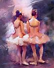 Ballet Students by © Helen Chierego