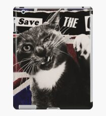 God Save The Queen Cat iPad Case/Skin