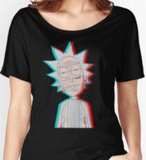 3D Rick Women's Relaxed Fit T-Shirt
