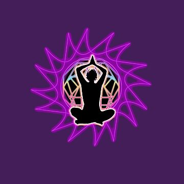 Women's ~ Meditation & sacred geometry .  by LeahMcNeir