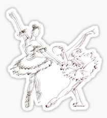 SKETCH MONSTER: BALLERINAS Sticker