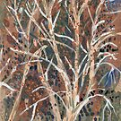 Crick Avenue, Winter Trees by John Douglas