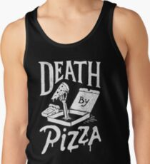 Death By Pizza Tank Top