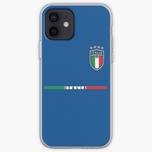 Italy Soccer Jersey 2020 2021 Italia Football Team iPhone Soft Case
