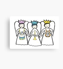 Angel Musics Canvas Print