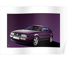 Poster artwork - VW Corrado Coupe Poster