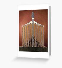 Anbetung - Art Deco von Erte Grußkarte