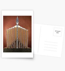 Adoration - Art Deco by Erté Postcards