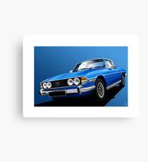 Poster artwork - Tahiti Blue Triumph Stag Canvas Print