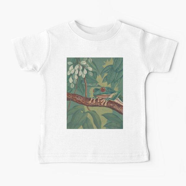 Orange-Eyed Tree Frog Baby T-Shirt